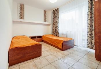 Pokój typu studio dwie sypialni dla 3-4 osob + łazienka